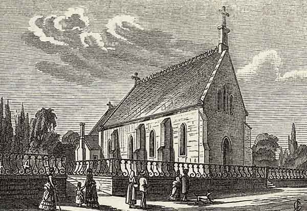 La chapelle anglicane St-John de Territet
